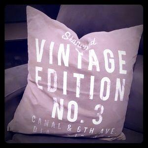 """🥂 """"Vintage Edition"""" Pillow Case Tan"""